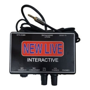 INTERFACE DE AUDIO NEW LIVE INTERACTIVE - 2 CANAIS