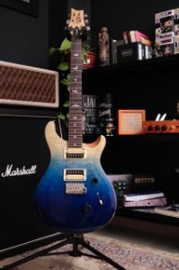 GUITARRA PRS CU4Q SE CUSTOM 24 QUILTED TOP - BLUE FADE