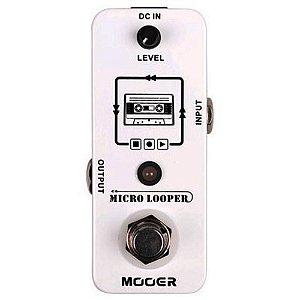 PEDAL PARA GUITARRA MOOER - MICRO LOOPER - MLP1
