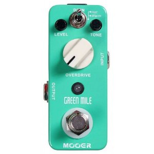 PEDAL PARA GUITARRA MOOER - GREEN MILE OVERDRIVE