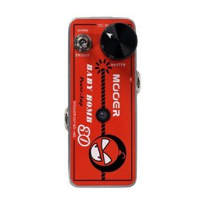 PEDAL PARA GUITARRA MOOER - BABY BOMB - MICRO POWER AMP 30W