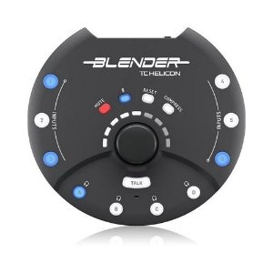 INTERFACE DE AUDIO - BLENDER - TC HELICON