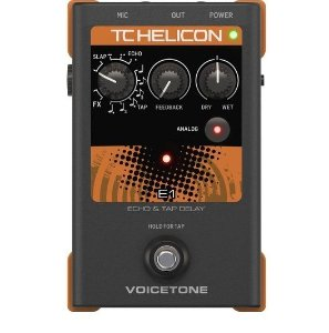 PEDAL VOICETONE E1 - PROCESSADOR DE VOZ - TC HELICON