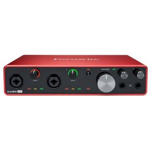 INTERFACE DE AUDIO FOCUSRITE - SCARLETT 8I6