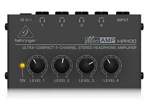 POWERPLAY AMP. DE FONE - BEHRINGER - HA400