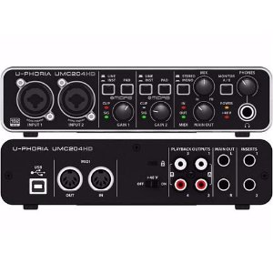 INTERFACE DE AUDIO - BEHRINGER - UMC204HD