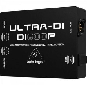 DIRECT BOX PASSIVO - BEHRINGER - DI600P