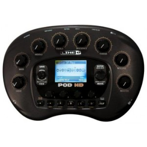 PEDALEIRA GUITARRA POD 500 HD DESKTOP - INTERFACE - GARANTIA