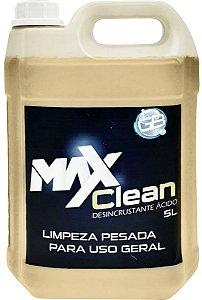 DESINCRUSTANTE ÁCIDO limpeza Pesada MAXCLEAN 5 LITROS
