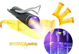 GBMAK Leaks Kit Detector de Vazamentos UV Ar Condicionado