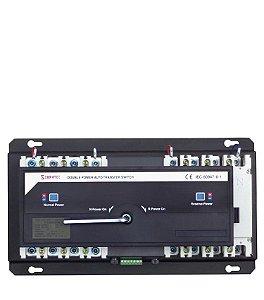 Chave de Transferência Rede/Gerador Automática HYCQ5M-100 100A - Atua Sob Carga