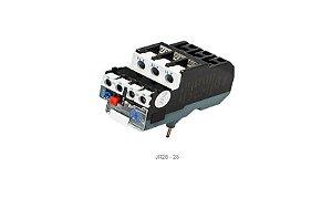 Relé térmico RT28-25 compatível com contatores CJX2/JX2, faixa de ajuste 17~25A
