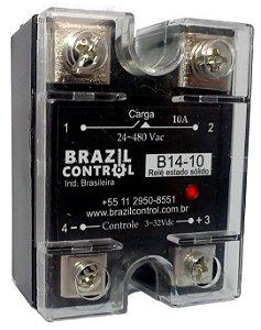 B14-10 - RELE DE ESTADO SOLIDO 10A