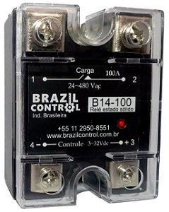 B14-100 - RELE DE ESTADO SOLIDO 100A
