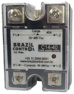 C14-40 - RELE DE ESTADO SOLIDO 40A