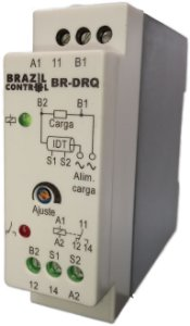BR-DRQ22 - RELE DETECTOR DE RESISTENCIA QUEIMADA 220VAC