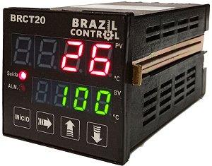 BRCT20 - CONTROLADOR DE TEMPERATURA 48x48