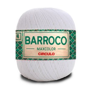 Barbante Barroco Maxcolor 4 Fios 200g Cor 8001