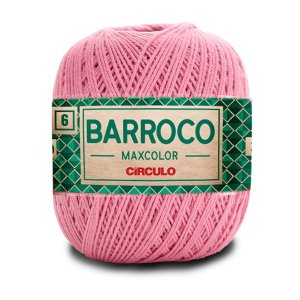 Barbante Barroco Maxcolor 6 Fios 200g Cor 3390