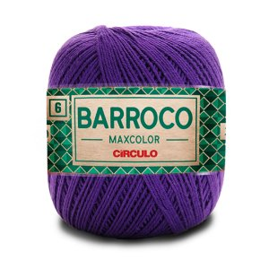 Barbante Barroco Maxcolor 6 Fios 200g Cor 6290