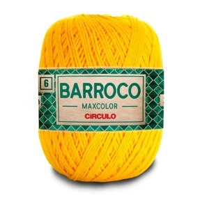Barbante Barroco Maxcolor 6 Fios 400g Cor 1289