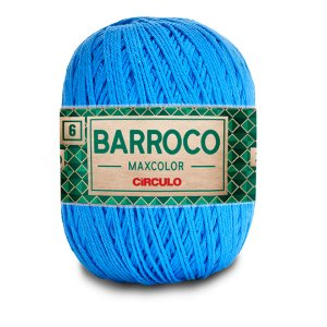 Barbante Barroco Maxcolor 6 Fios 400g Cor 2500
