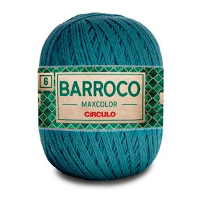 Barbante Barroco Maxcolor 6 Fios 400g Cor 2930