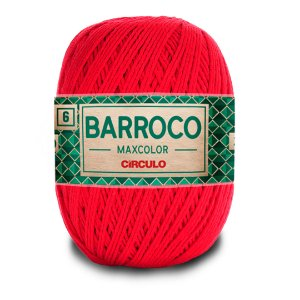 Barbante Barroco Maxcolor 6 Fios 400g Cor 3501