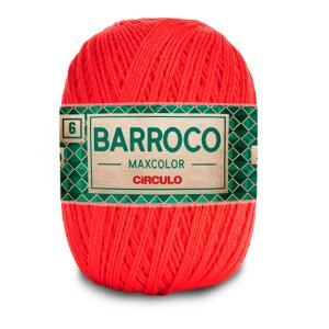 Barbante Barroco Maxcolor 6 Fios 400g Cor 3524