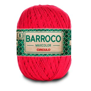 Barbante Barroco Maxcolor 6 Fios 400g Cor 3635