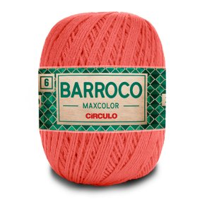 Barbante Barroco Maxcolor 6 Fios 400g Cor 4004