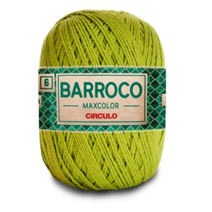 Barbante Barroco Maxcolor 6 Fios 400g Cor 5800