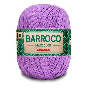 Barbante Barroco Maxcolor 6 Fios 400g Cor 6394