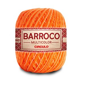 Barbante Barroco Multicolor 6 Fios 400g Cor 9059