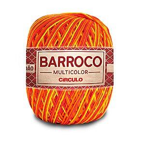 Barbante Barroco Multicolor 6 Fios 400g Cor 9165