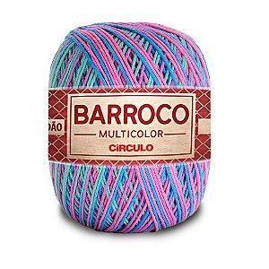 Barbante Barroco Multicolor 6 Fios 400g Cor 9184