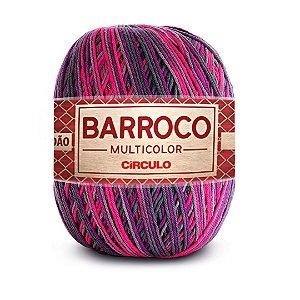 Barbante Barroco Multicolor 6 Fios 400g Cor 9185
