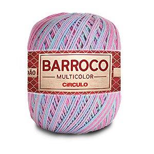 Barbante Barroco Multicolor 6 Fios 400g Cor 9296
