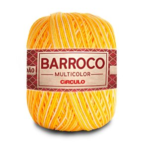 Barbante Barroco Multicolor 6 Fios 400g Cor 9368
