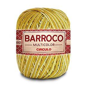 Barbante Barroco Multicolor 6 Fios 400g Cor 9385