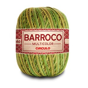 Barbante Barroco Multicolor 6 Fios 400g Cor 9392