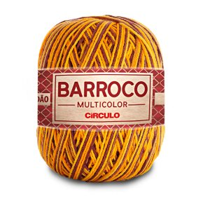 Barbante Barroco Multicolor 6 Fios 400g Cor 9492