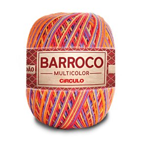 Barbante Barroco Multicolor 6 Fios 400g Cor 9502