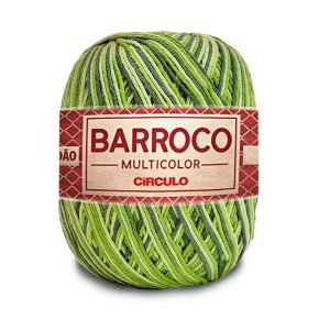 Barbante Barroco Multicolor 6 Fios 400g Cor 9536