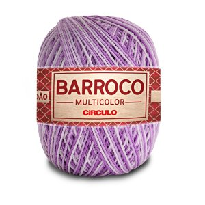 Barbante Barroco Multicolor 6 Fios 400g Cor 9587