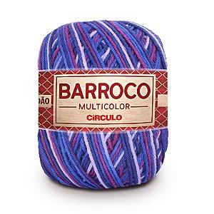 Barbante Barroco Multicolor 6 Fios 400g Cor 9897