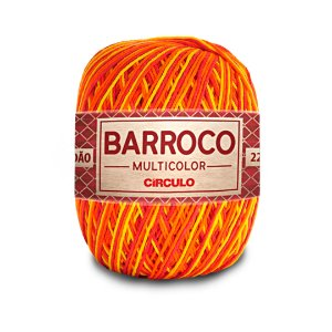 Barbante Barroco Multicolor 6 Fios 200g Cor 9165