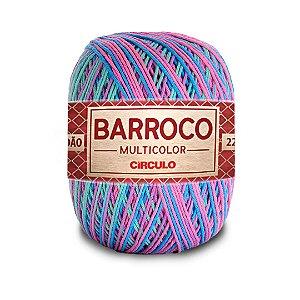 Barbante Barroco Multicolor 6 Fios 200g Cor 9184