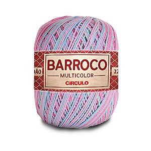 Barbante Barroco Multicolor 6 Fios 200g Cor 9296