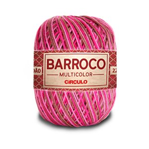 Barbante Barroco Multicolor 6 Fios 200g Cor 9461